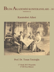 The Karatodori Family – Speaker: Tosun Terzioğlu