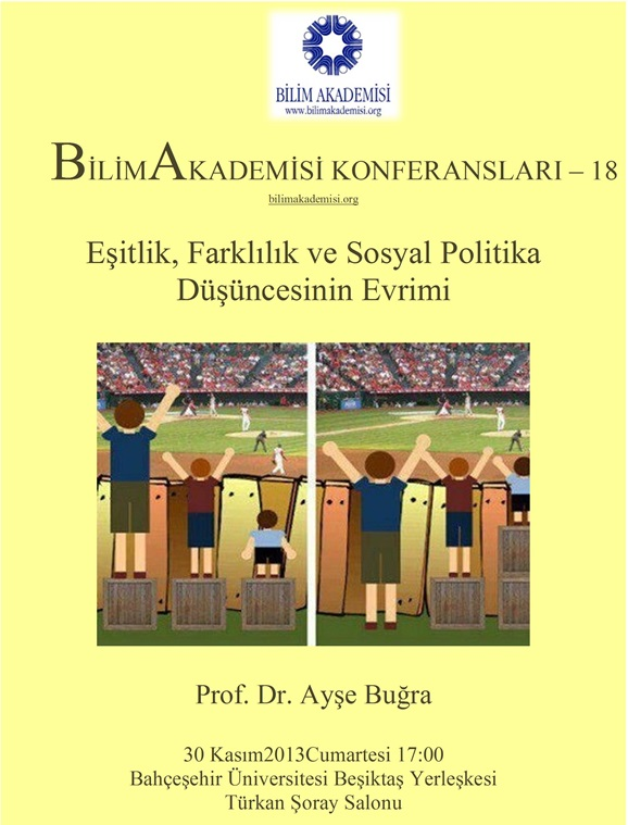 Equality, Difference and the Evolution of Social Policy – Speaker: Ayşe Buğra