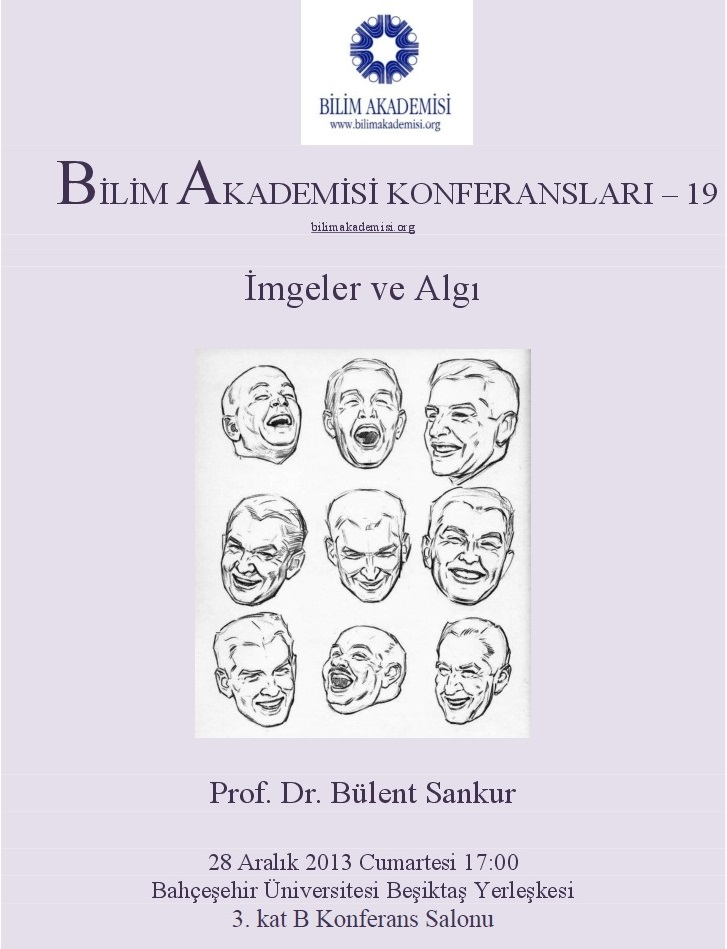 Images and Perception – Speaker: Bülent Sankur