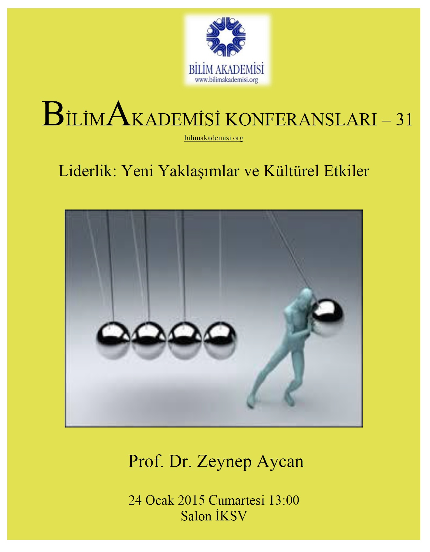 Leadership: New Approaches and Cultural Repercussions – Speaker: Zeynep Aycan