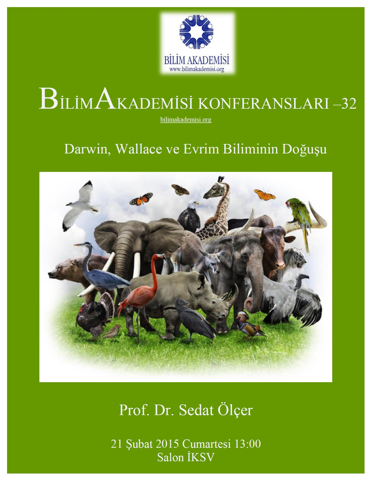 Darwin, Wallace, and Birth of the Science of Evolution – Speaker: Sedat Ölçer