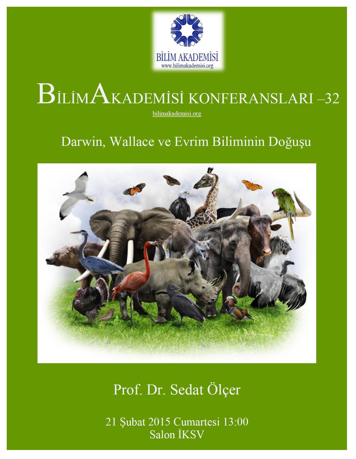 Darwin, Wallace, and Birth of the Science of Evolution – Speaker: Sedat Ölçer