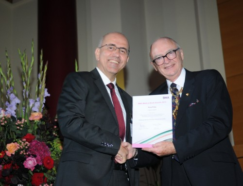 """Emerging Infectious Diseases: Clinical Case Studies"" Awarded First Prize by BMA"
