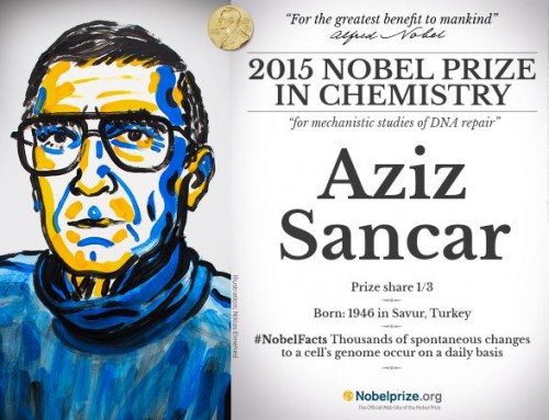 Aziz Sancar Wins Nobel Prize in Chemistry