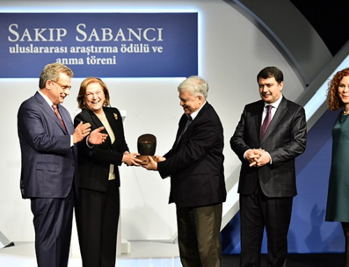 İlhan Tekeli Awarded Jury Prize, Sakıp Sabancı International Research Awards