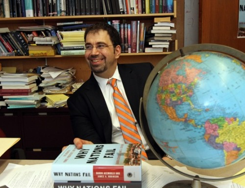 Daron Acemoglu wins BBVA Foundation Frontiers of Knowledge Award